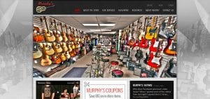 Murphy's Guitars New Website