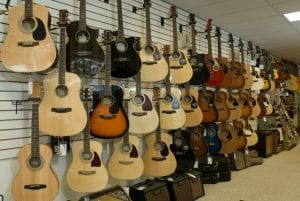 Murphy's Guitars - South Wall